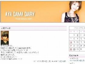 平野さんのブログ。「元気です」としているが…。