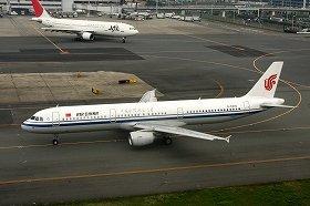 国交省と中国国際航空の言い分は対立している(写真は同社のエアバスA320型機)