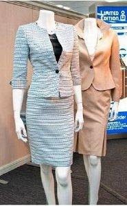 婦人用パターンオーダースーツは3万9000円から。西武池袋本店