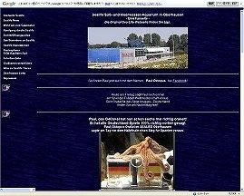 パウル動画も紹介するドイツの水族館のサイト