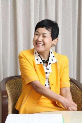 「今の大学生はとても素直です」と笑顔で語る坂東さん