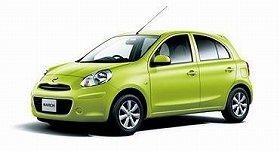 日産の新型マーチはタイからの「逆輸入」だ(写真は、マーチ12G)