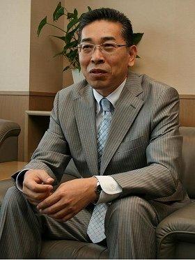「ファッションを通して日本のお客様の生活を豊かにしたい」と語る野中社長
