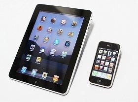 iPadやアイフォーンならツイッター接続可能
