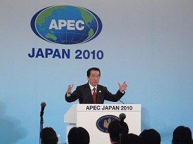 菅内閣の支持率低下が続いている