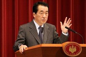 菅首相は、現段階では大連立に否定的だ