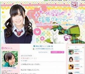 現在も1位になっている指原さんのブログ。