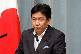 枝野官房長官は、東電に対する不快感をあらわにした