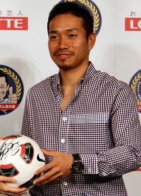 長友選手のように高年俸を手にする日本人選手は、まだ少数(2010年7月撮影)