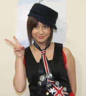 復活した小野恵令奈さん(撮影は2010年11月)