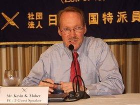 「ゆすり発言」を否定するケビン・メア前米国務省日本部長