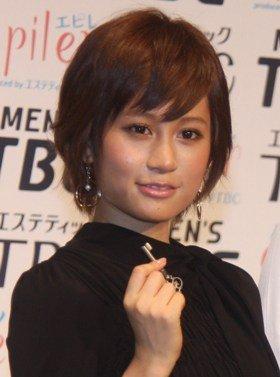 前田敦子さん(2011年8月24日撮影)