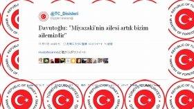 トルコ外相はツイッターで「宮崎さんの家族は我々の家族だ」とつづった