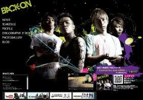 「BACK-ON(バックオン)」公式サイト KENJI03(ケンジスリー)さんは左から2番目