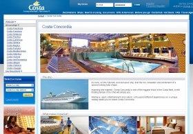 人気の客船だったコスタ・コンコルディア