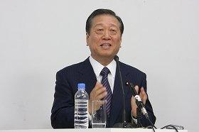 小沢氏は、自由報道協会の会見に多く登場した(11年1月27日撮影)