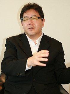 秋元氏の発言が波紋を広げている(10年夏撮影)