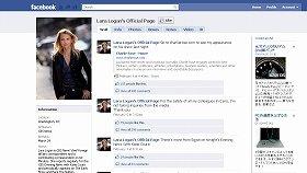 フェイスブックも頻繁に更新していたローガン記者
