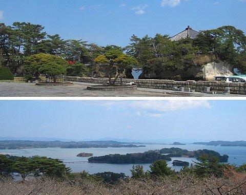 震災後も変わらない景観を保つ松島(4月24日撮影)