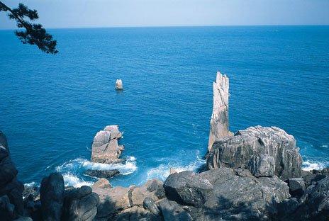 唐桑半島「折石」