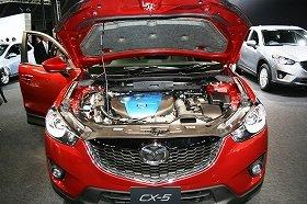 日米欧の排出ガス規制をクリアしたマツダの「SKYACTIV‐D2.2」エンジン