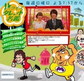 「クイズ☆タレント名鑑」(TBS系)の番組ホームページ