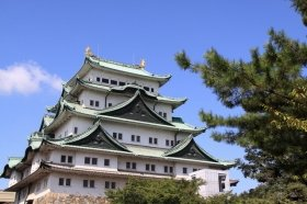 名古屋城は中国人観光客にも定番のスポット
