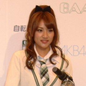高橋みなみさん(2011年2月8日撮影)