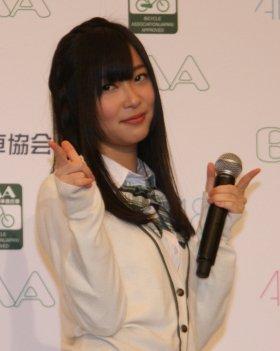 「HKT48で頑張る」と宣言した指原さん(2011年2月8日撮影)