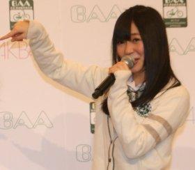 騒動後も運営に愛されている指原さん(11年2月撮影)