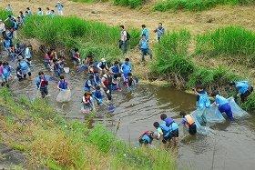 「AQUA SOCIAL FES!!」 島根県の「高津川教室」のもよう
