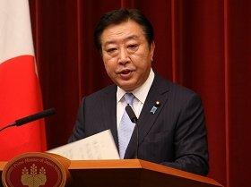 日本政府は「効果的」な制裁措置を打てるのか(写真は、野田首相)