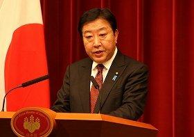 野田佳彦首相は、領土に関連する問題について「誠に遺憾の極み」と述べた