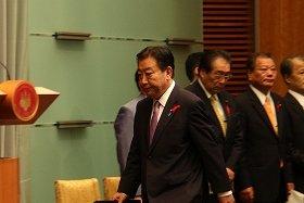 記者が野田首相に会見以外で質問できる機会は限られている