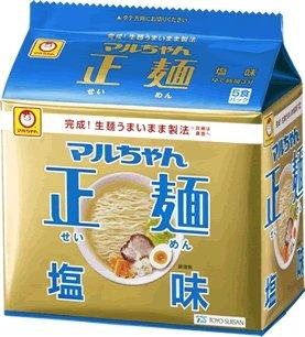 12年8月に発売された「マルちゃん正麺 塩味」(ニュースリリースより)