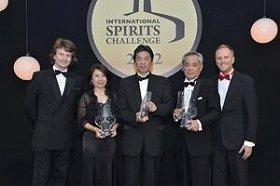 サントリーの「山崎18年」と「白州25年」は「インターナショナル・スピリッツ・チャレンジ 2012」で最高賞を受賞した