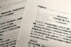 日本維新の会が発表した「骨太2013-2016」