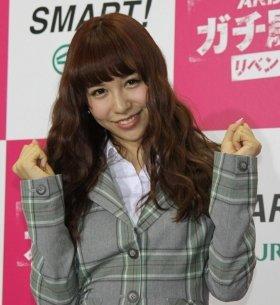 卒業を発表したAKB48の河西さん(12年11月撮影)