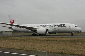 JALは787を世界で2番目に導入した(2012年4月撮影、同型機)