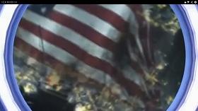 北朝鮮の「我が民族同士」がアップロードしたとされる動画。米国のビル群が炎に包まれている