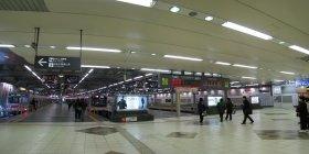 現在の東横線渋谷駅ホーム(ウィキメディア・コモンズより、11年2月撮影)