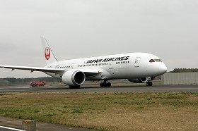 JALは国際線のみで787を運航している
