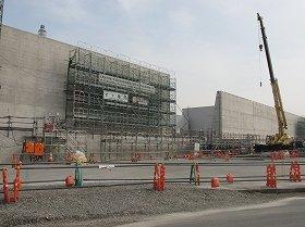 高さ10メートルの防潮堤の建設は13年6月には終わる見通しだ
