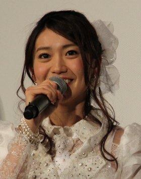 将来の目標は「女優」という大島優子さん(13年1月撮影)
