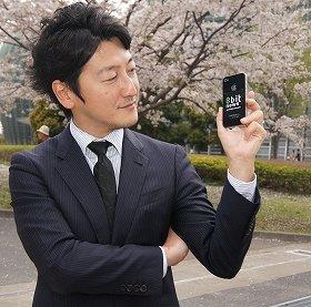 J-CASTニュースの取材に、新規事業の構想を語った堀潤さん(3月29日、都内で)