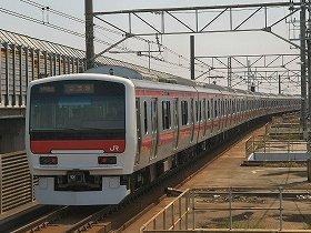 JR京葉線(本文中に出てくる車両ではありません)