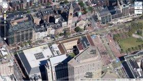 爆発が起こった現場周辺(Google Mapより)