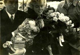 お見事! サンペイさんが撮ったマリリン・モンローとディマジオ