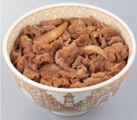 「すき家」の牛丼
