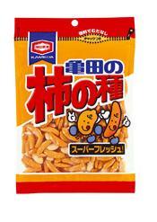 「グルテンフリー」表示で米国販売を強化(写真は、日本で販売している「亀田の柿の種」)